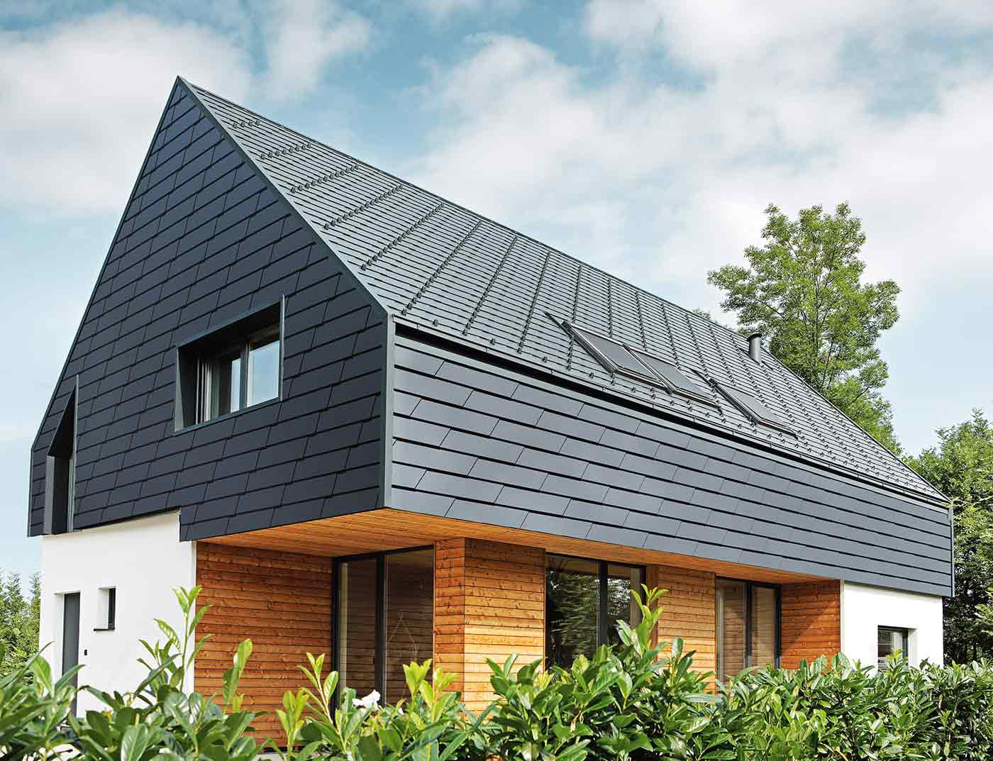 крыша с торца дома проекты фото кружевом модели